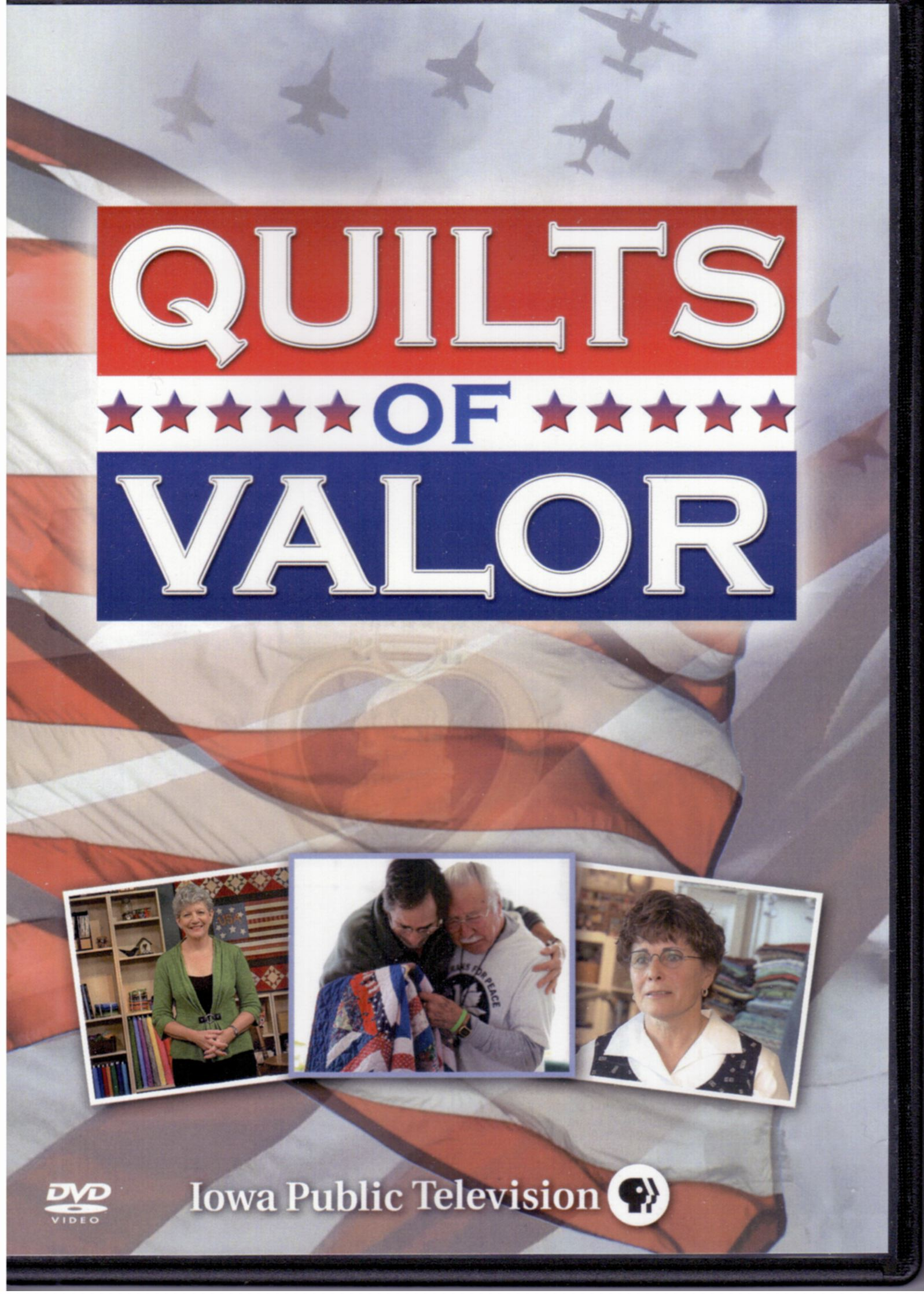 Listen as many of you know i taped a quilts of valor special for iowa