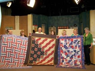 Stars and Stripes Quilt for QOV | Mark Lipinski's Blog : stars and stripes quilt - Adamdwight.com
