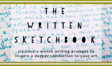 written sketchbook logo 2