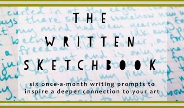 written sketchbook logo 2