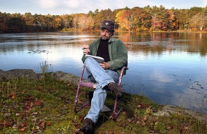 Mike Kimball, York, Maine. October 20, 2004. Ralph Morang