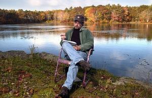 Mike Kimball, York, Maine. October 20, 2004. Ralph Morang