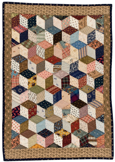 Tumbling-Blocks-quilt