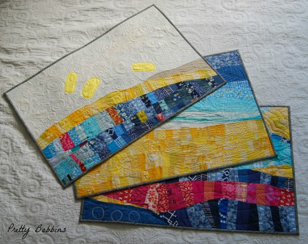 Set of three quilts - Copy