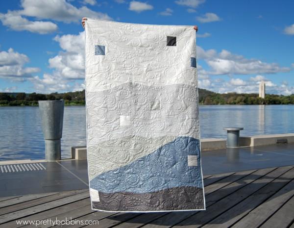 shimmer on lake