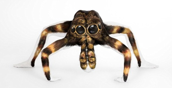 Amazing Animal Body Art Work