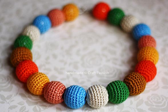 Crochet Beaded Necklace Patterns
