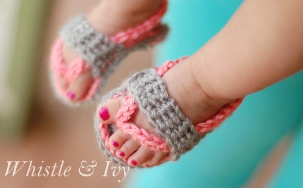 crochetbabyflipflopsandalspatternWM