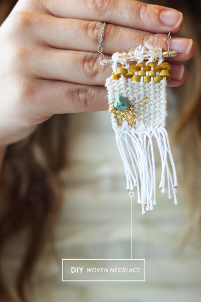 DIY-woven-necklace
