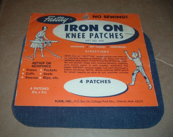 IRON ON KNEE PATCHES