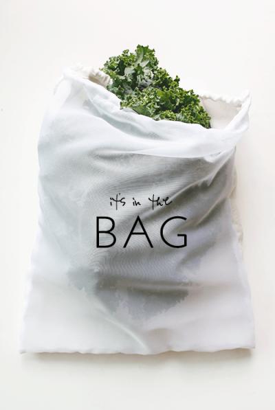 DIY Produce Bags Absorbent Linen