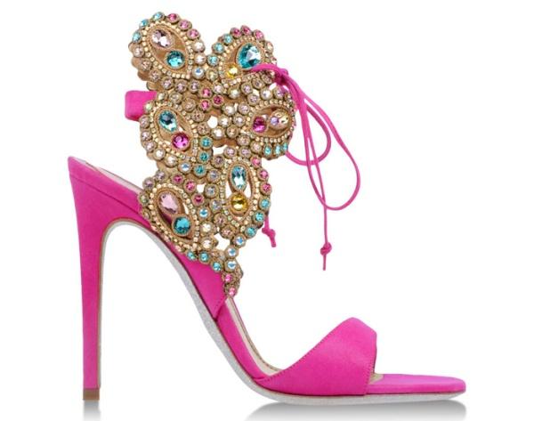 I-Wan-Rene-Caovilla-Fuchsia-Pink-Rhinestone-Embellished-Sandals-for-Spring-2014-1