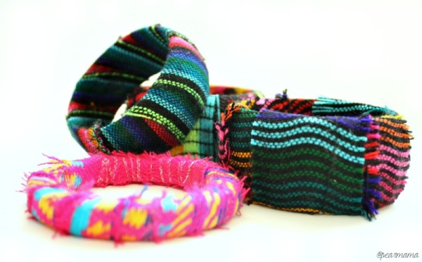 mexican-fabric-wrapped-bangles-bracelets-pearmama