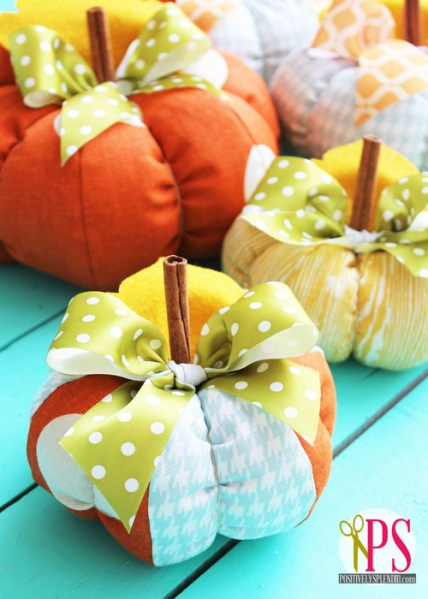 plush patchwork pumpkins 1