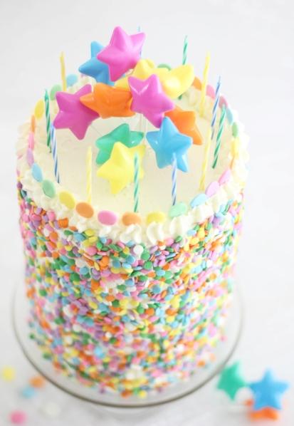 Pastel Layer Cake SprinkleBakes 2