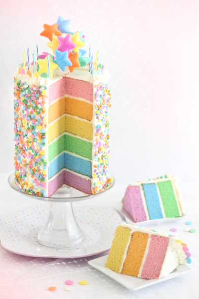 Pastel+Layer+Cake