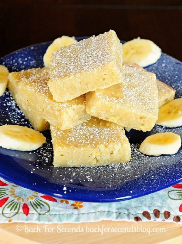 Banana-Brownies
