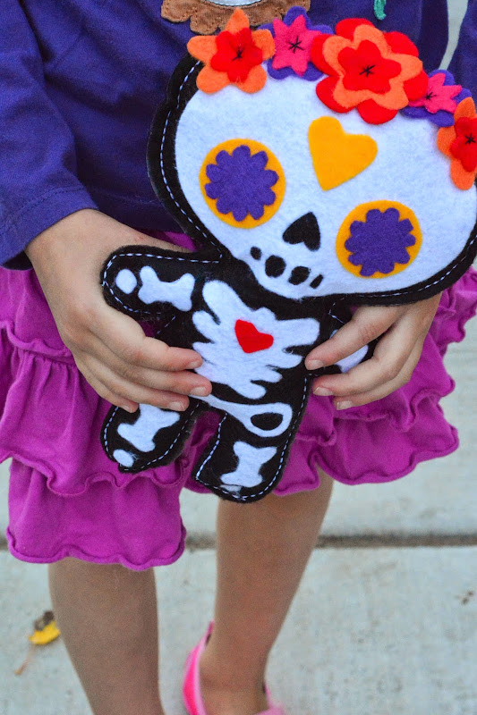 Day of the Dead Doll pattern-3215