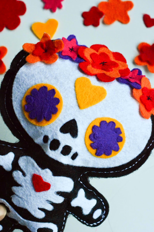 Day of the Dead Doll pattern-3227