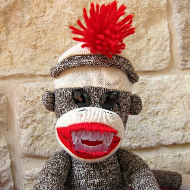 DIY Creepy Monkey Plush