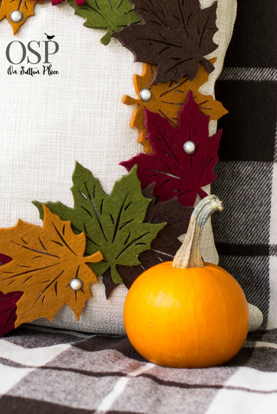 diy-pottery-barn-knock-off-leaf-wreath-pillow-cover