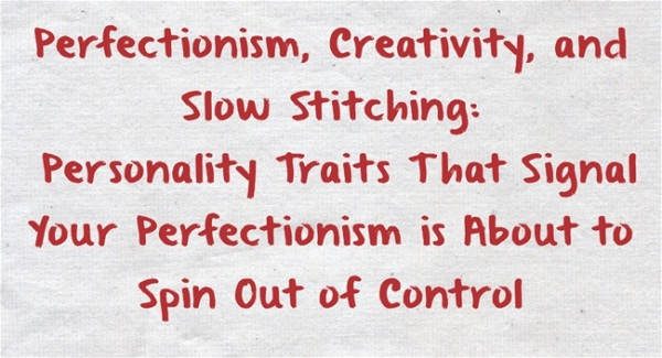 Perfectionism-Creativity