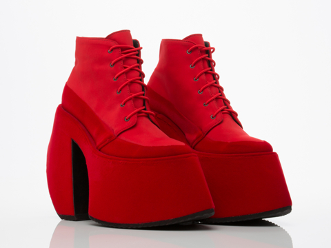 Robert-Wun-shoes-No-6-Glacier-Platforms-(Red-Combo)-010606