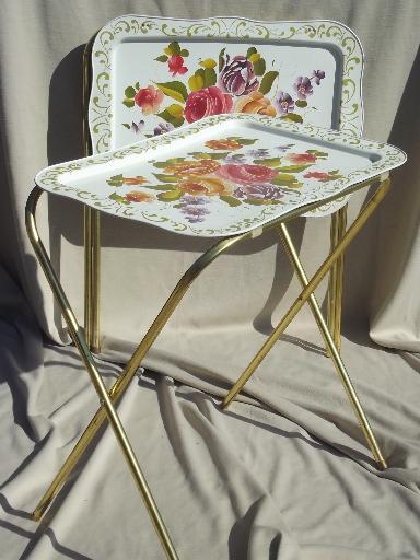 vintage-tin-tray-TV-tables-retro-all-metal-folding-tables-for-crafts-etc-Laurel-Leaf-Farm-item-no-u924133-1
