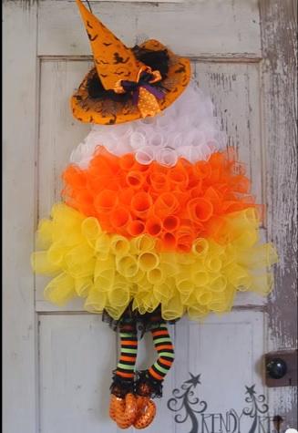 Diy halloween wreaths ideas