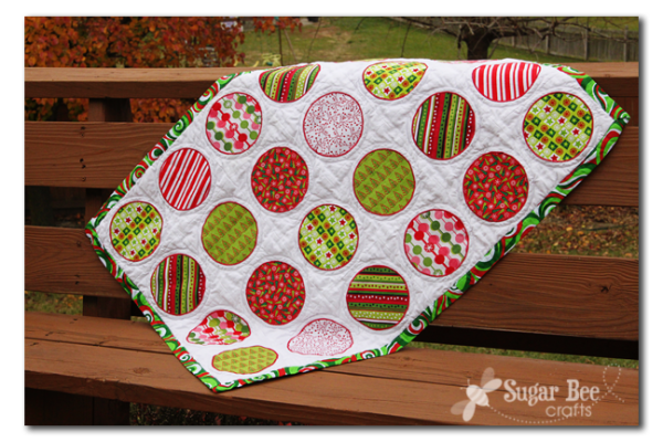 holiday circle quilt copy