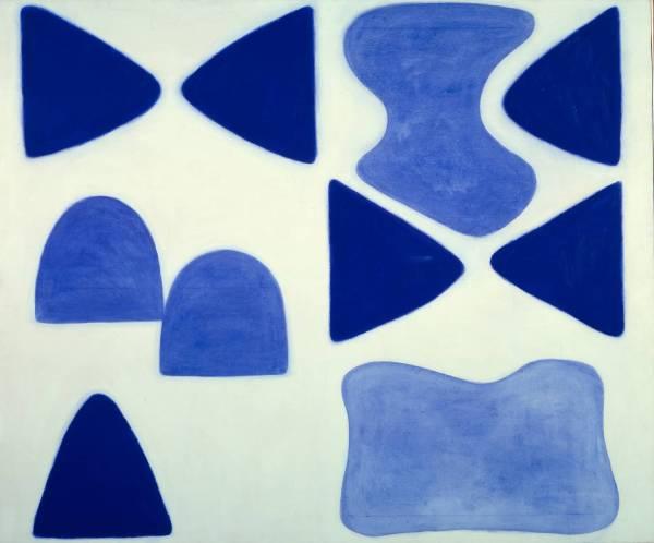 Berlin Blues 4 1965 by William Scott 1913-1989