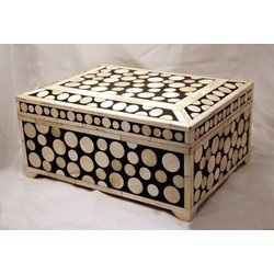 Camel-Bone-Inlaid-Cash-Box