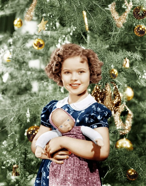 Celebrities Dressed for Christmas in the Past (29)