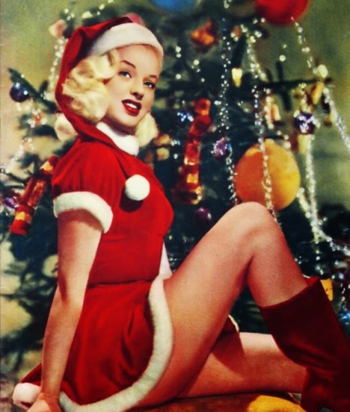 Celebrities Dressed for Christmas in the Past (30)