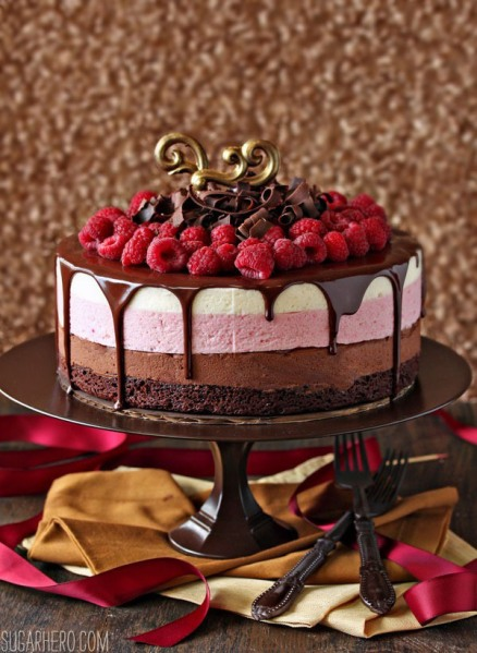 chocolate-raspberry-mousse-cake-2