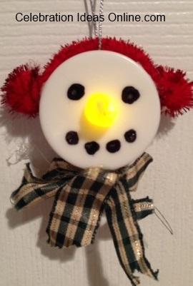 snowmanornamentlit