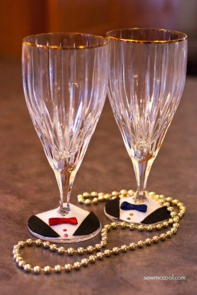 Tuxedo-wine-glass-charms-from-SewMcCool