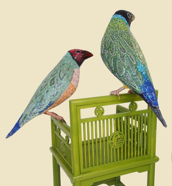 Mosaic-Bird-Sculptures7