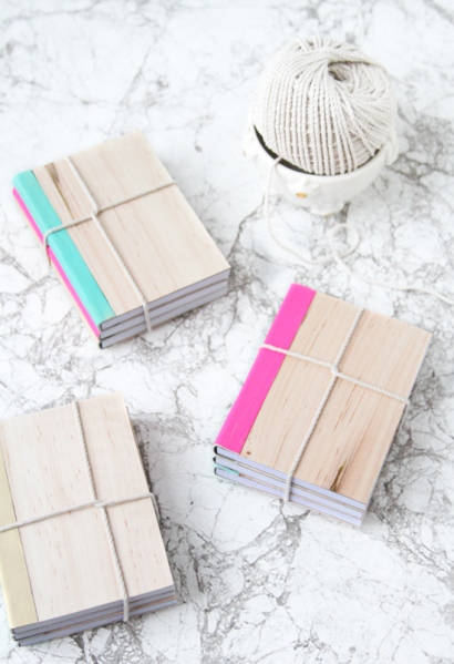 stacks-of-notebooks-wrapped-with-twine
