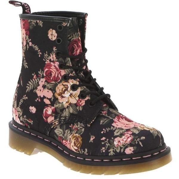 2014 dr-1. martens womens 1460 8 eye victorian flowers lace-up boot-f78675