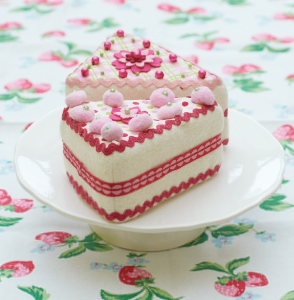 fabric-cake