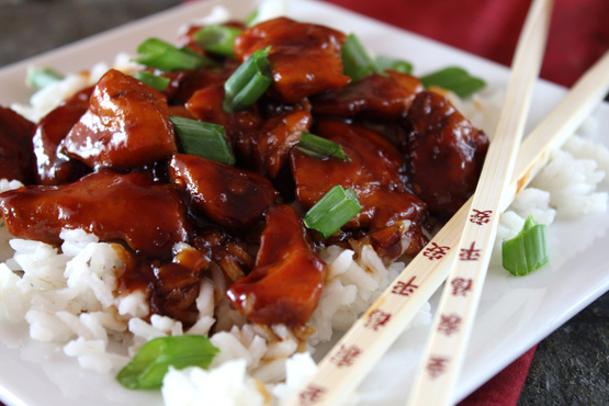 149 bourbon chicken