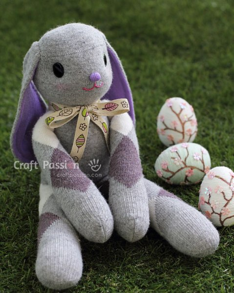 sew-sock-bunny