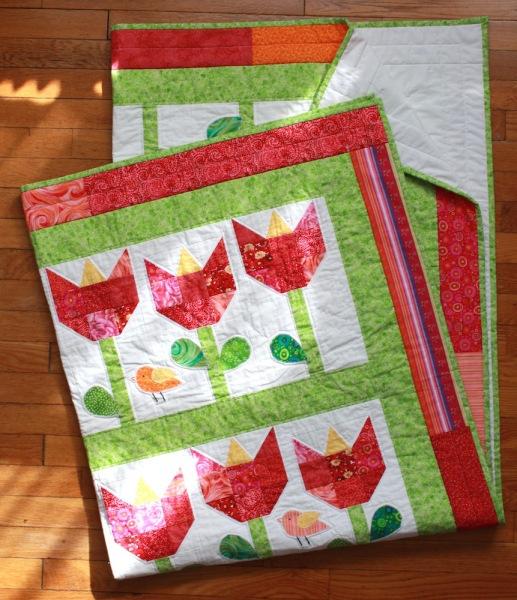 tulip-quilt-folded