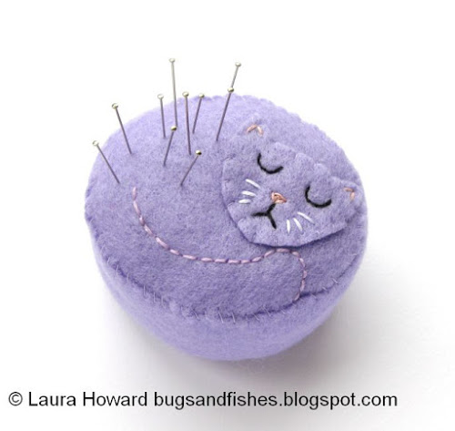 Cat Pincushion 3a