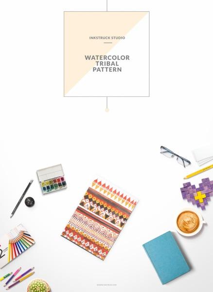 watercolor-tribal-pattern-13
