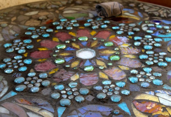Make Your Own Sewing Machine Table Create A Stained Glass