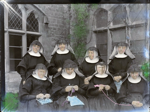 knitting mark nuns