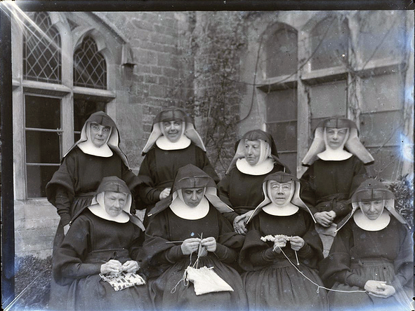 knitting nuns