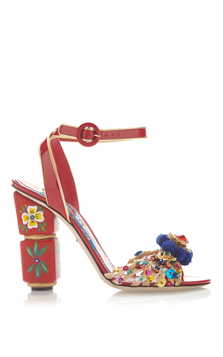 medium_dolce-gabbana-red-red-painted-sandals-with-pom-pom-and-sequined-toe-1